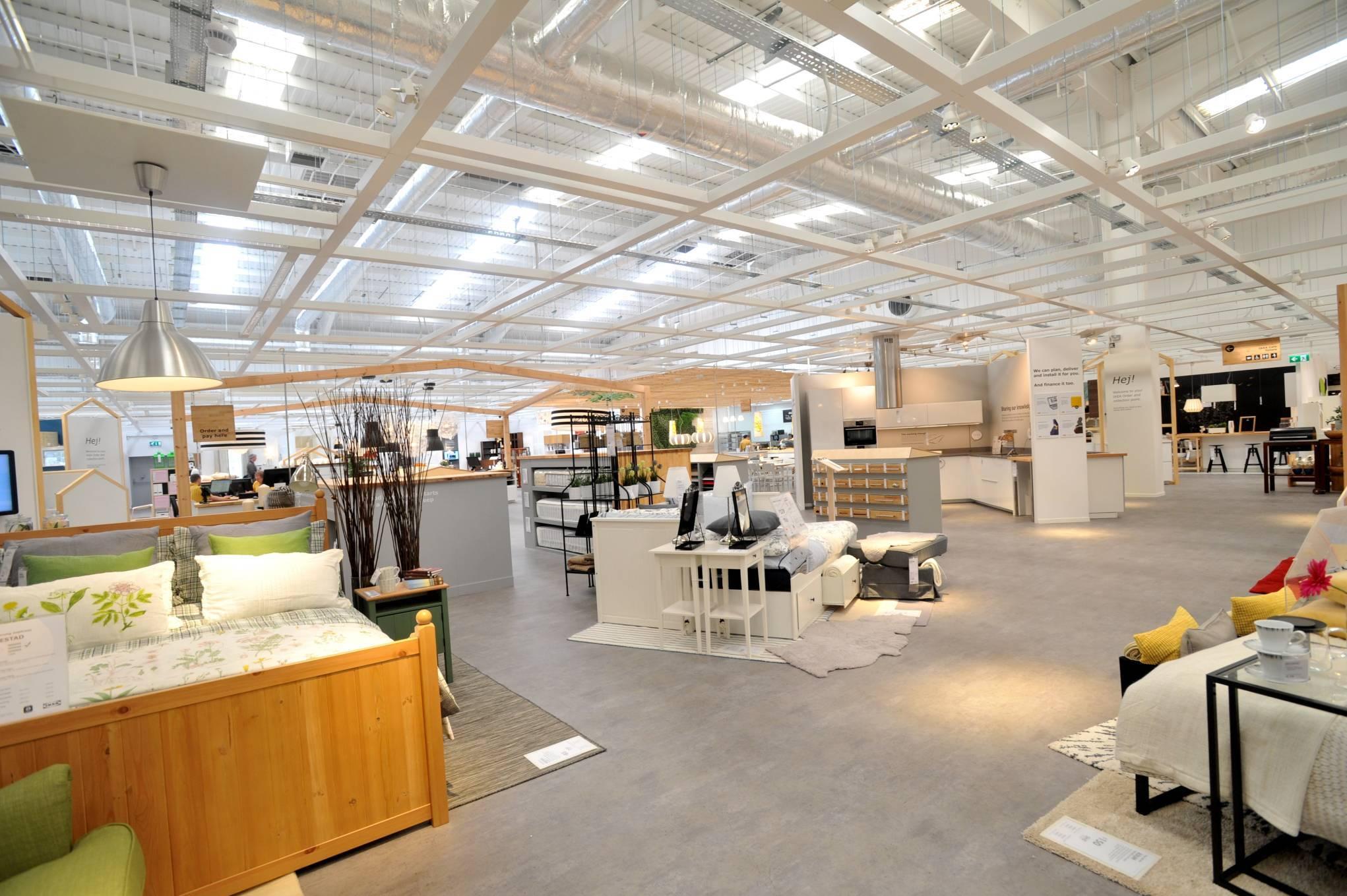 Một cửa hàng bán lẻ đồ nội thất của chuỗi cung ứng IKEA tại Aberdeen, Vương quốc Anh