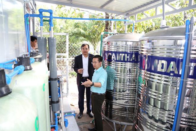 Hệ thống xử lý nước tại EKOCENTER