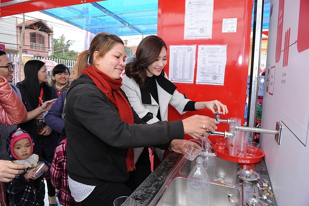 Nguồn nước sạch cung cấp miễn phí cho người dân